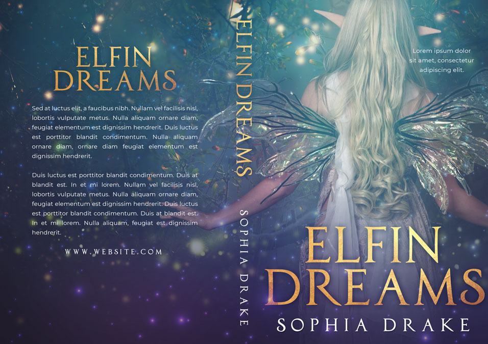 Elfin Dreams - Fantasy Premade Book Cover For Sale @ Beetiful Book Covers