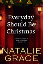 Everyday Should Be Christmas – Christmas Fiction Premade Book Cover For Sale @ Beetiful Book Covers