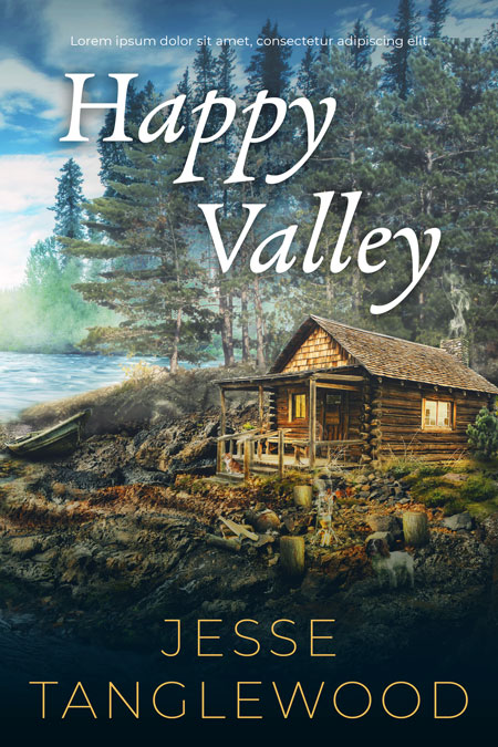 Happy Valley - Fiction Premade Book Cover For Sale @ Beetiful Book Covers