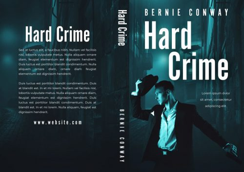 Hard Crime - Mystery / Thriller Premade Book Cover For Sale @ Beetiful Book Covers