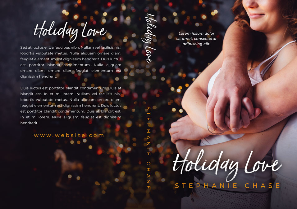 Holiday Love - Christmas Romance Premade Book Cover For Sale @ Beetiful Book Covers