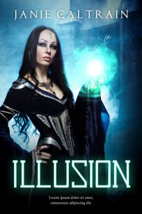 Illusion - Fantasy Premade Book Cover For Sale @ Beetiful Book Covers