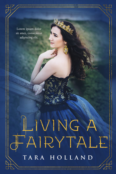 Living a Fairytale - Young Adult Fantasy Premade Book Cover For Sale @ Beetiful Book Covers