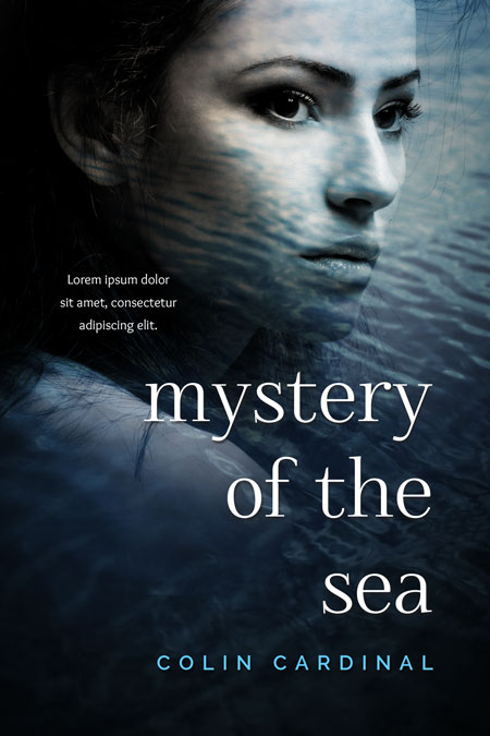 Mystery of the Sea - Mystery Premade Book Cover For Sale @ Beetiful Book Covers