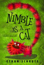 Nimble as a Cat – Middle-grade Premade Book Cover For Sale @ Beetiful Book Covers