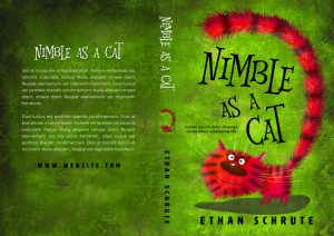 Nimble as a Cat - Middle-grade Premade Book Cover For Sale @ Beetiful Book Covers
