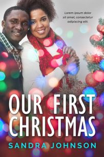 Our First Christmas - African-American Christmas Romance Premade Book Cover For Sale @ Beetiful Book Covers