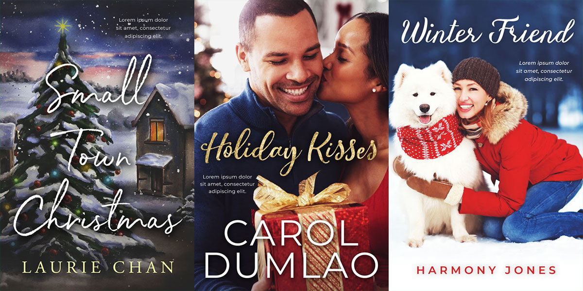 20 New Christmas and Winter Premade Book Covers