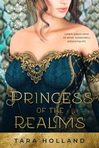 Princess of the Realms - Fantasy Premade Book Cover For Sale @ Beetiful Book Covers