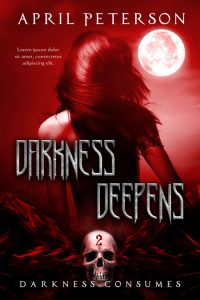 Darkness Consumes - Dark Fantasy Series Premade Book Covers For Sale - Beetiful