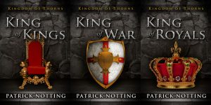Kingdom of Thorns - Dark Fantasy Series Premade Book Covers For Sale - Beetiful