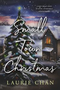 Small Town Christmas - Christmas Fiction Premade Book Cover For Sale @ Beetiful Book Covers