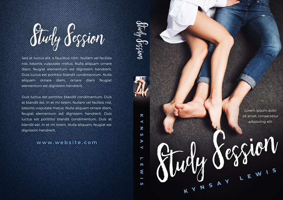 Study Session - New Adult Romance Premade Book Cover For Sale @ Beetiful Book Covers