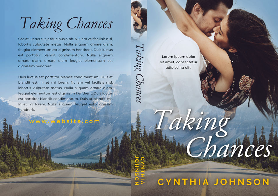 Taking Chances - Women's Fiction / Contemporary Romance Premade Book Cover For Sale @ Beetiful Book Covers