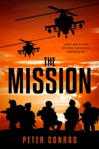 The Mission - Military Premade Book Cover For Sale @ Beetiful Book Covers
