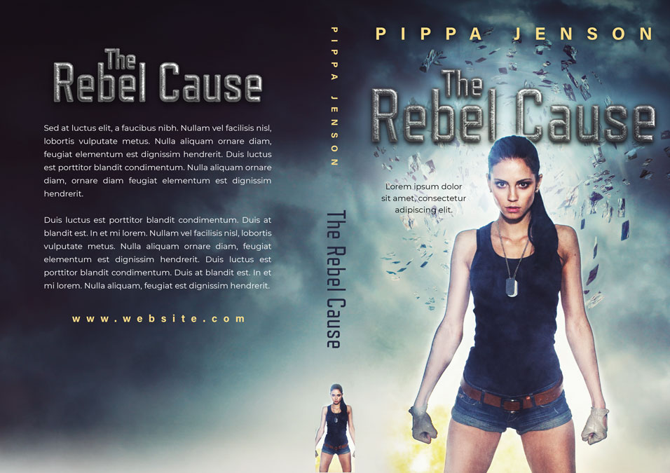 The Rebel Cause - Fantasy Premade Book Cover For Sale @ Beetiful Book Covers