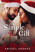 The Simple Gift – Interracial Christmas Romance Premade Book Cover For Sale @ Beetiful Book Covers