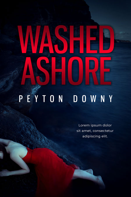Washed Ashore - Mystery Premade Book Cover For Sale @ Beetiful Book Covers