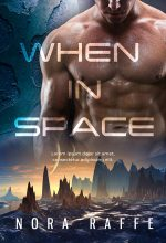 When In Space – Science-Fiction Romace Premade Book Cover For Sale @ Beetiful Book Covers