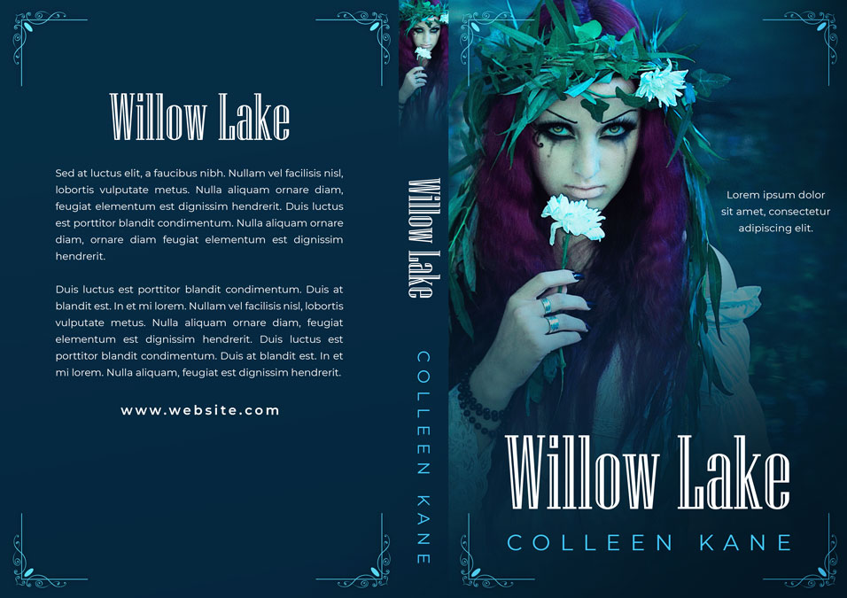 Willow Lake - Fantasy Premade Book Cover For Sale @ Beetiful Book Covers