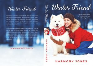 Winter Friend - Christmas Fiction Premade Book Cover For Sale @ Beetiful Book Covers
