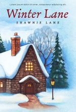 Winter Lane – Christmas Fiction Premade Book Cover For Sale @ Beetiful Book Covers