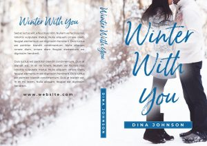 Winter With You - Young Adult Christmas Romance Premade Book Cover For Sale @ Beetiful Book Covers