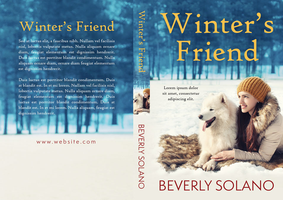 Winter's Friend - Christmas Fiction Premade Book Cover For Sale @ Beetiful Book Covers