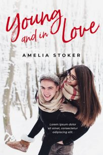 Young and In Love - Young Adult Winter Romance Premade Book Cover For Sale @ Beetiful Book Covers