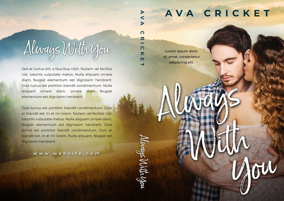 Always With You - Romance Premade Book Cover For Sale @ Beetiful Book Covers