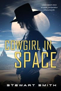 Cowgirl In Space - Space Romance Premade Book Cover For Sale @ Beetiful Book Covers