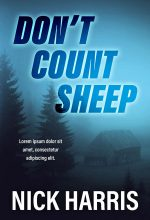 Don't Count Sheep – Mystery / Thriller Premade Book Cover For Sale @ Beetiful Book Covers