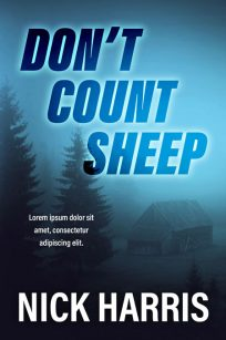 Don't Count Sheep - Mystery / Thriller Premade Book Cover For Sale @ Beetiful Book Covers