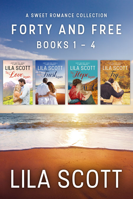 Forty and Free: Books 1 - 4 by Lila Scott