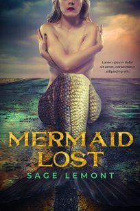 Mermaid Lost - Mermaid Premade Book Cover For Sale @ Beetiful Book Covers