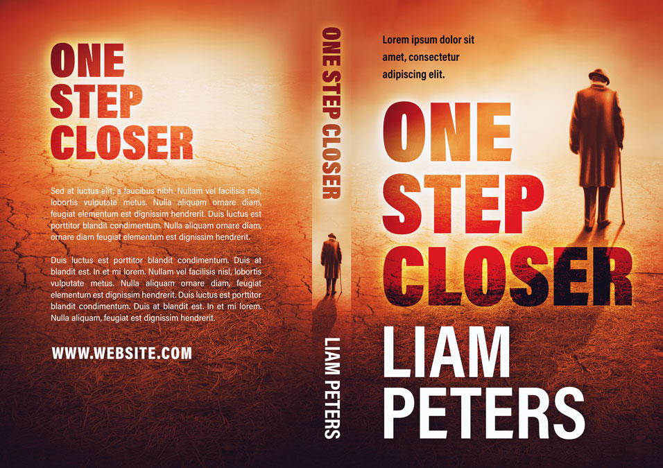 One Step Closer - Mystery / Thriller Premade Book Cover For Sale @ Beetiful Book Covers