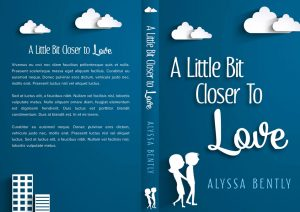 A Little Bit Closer To Love - Chick lit / Romance Premade Book Cover For Sale @ Beetiful Book Covers