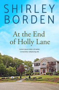 At the End of Holly Lane - Women's Fiction Premade Book Cover For Sale @ Beetiful Book Covers