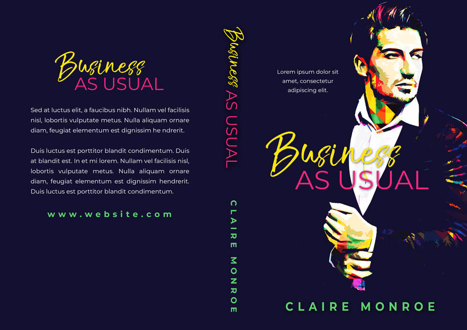 Business As Usual - Romance Premade Book Cover For Sale @ Beetiful Book Covers