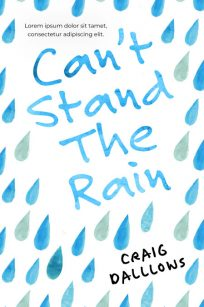Can't Stand The Rain - Fiction / Chick Lit Premade Book Cover For Sale @ Beetiful Book Covers