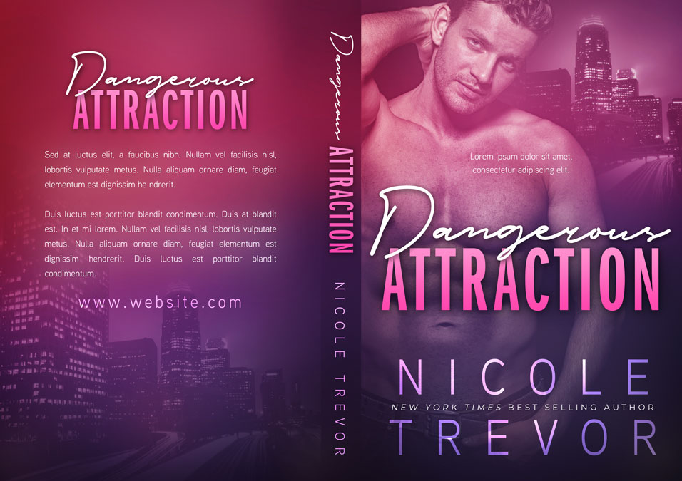 Dangerous Attraction - Romantic Suspense Premade Book Cover For Sale @ Beetiful Book Covers