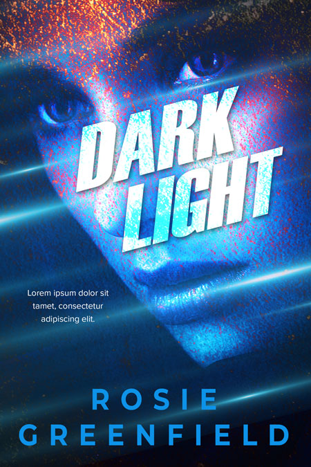 Dark Light - Science Fiction / Suspense Premade Book Cover For Sale @ Beetiful Book Covers