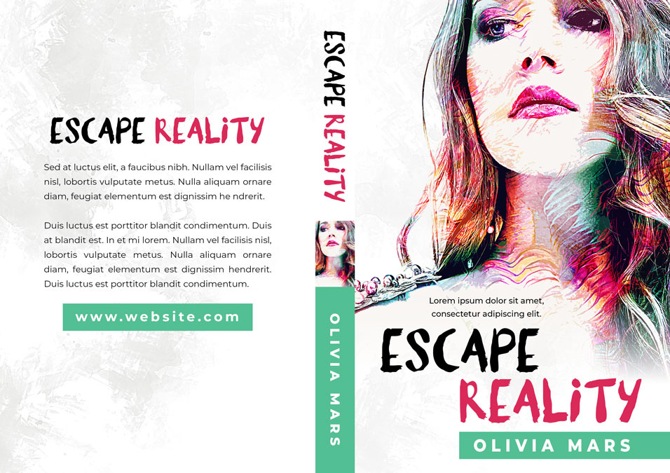 Escape Reality - Young Adult Premade Book Cover For Sale @ Beetiful Book Covers