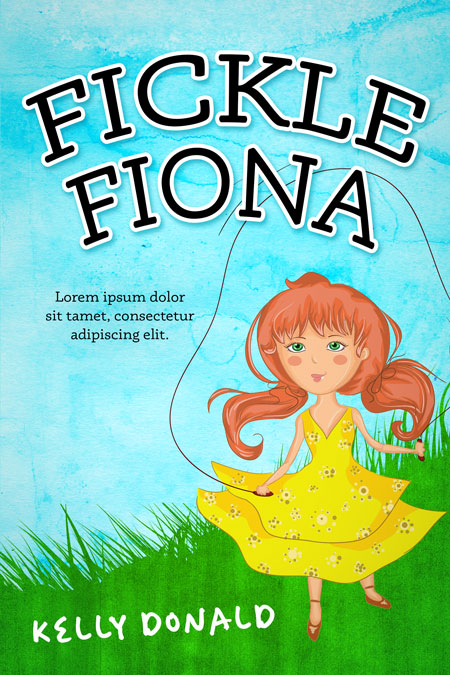 Fickle Fiona - Middle-grade Premade Book Cover For Sale @ Beetiful Book Covers