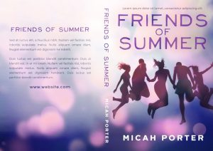 Friends of Summer - Young Adult Premade Book Cover For Sale @ Beetiful Book Covers