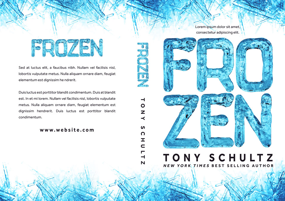 Frozen - Mystery, Thriller, Suspense Premade Book Cover For Sale @ Beetiful Book Covers