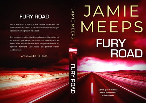 Fury Road - Mystery, Thriller, Suspense Premade Book Cover For Sale @ Beetiful Book Covers