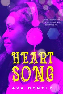 Heart Song - African-American Young Adult Premade Book Cover For Sale @ Beetiful Book Covers