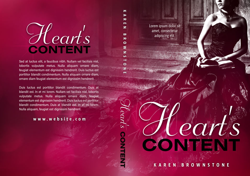 Heart's Content - Romane Premade Book Cover For Sale @ Beetiful Book Covers