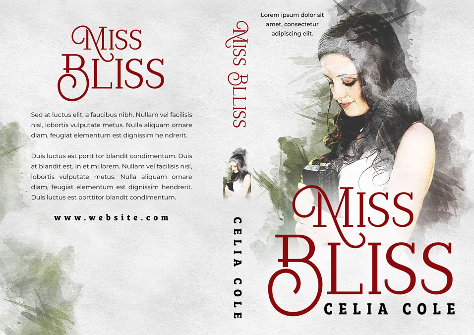 Miss Bliss - Women's Fiction Premade Book Cover For Sale @ Beetiful Book Covers